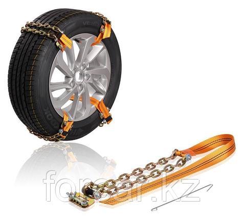 Цепи (браслеты) противоскольжения для внедорож.(колёса 235-285 мм), усиленные, к-т 6 шт., фото 2