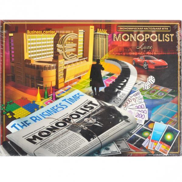 """Настольная игра """"Монополист: Люкс"""""""