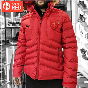 Зимняя куртка Puma Ferrari биопух., фото 2