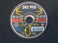 Круг отрезной Metal 125 х1 х 22,23 мм. SKORPIO A60T-BF (Weiler Abrasives, Slovenija)