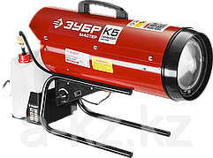 Дизельная тепловая пушка ЗУБР ДП-К7-15000, 220 В, 15,0 кВт, 300 м.кв/час, 18,5 л, 1,3 кг/ч