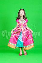 Новогодний костюм Жасмин - розовый