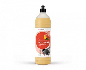 Матовый полироль для пластиковых, виниловых и кожаных изделий Complex® POLITURA, 1 л.