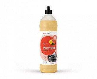Матовый полироль для пластиковых, виниловых и кожаных изделий Complex® POLITURA, 1 л., фото 2