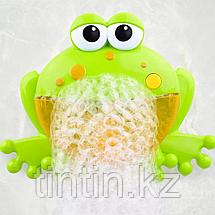 Игрушка для купания пускающая пузыри Bubble Frog, фото 2