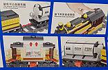 Конструктор аналог Лего LEGO City Электромеханический Zhe Gao Rail Transit QL0313 классический поезд 1464 дета, фото 2