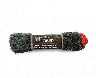 Салфетка микрофибра для сушки автомобиля 50х60 Big Fiber, 1шт., фото 2