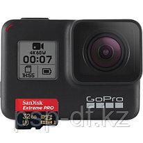 Экшн камера GoPro HERO7 Black + SanDisk Extreme Pro microSDHC UHS-I 32GB