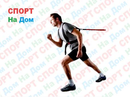 Эспандер-пояс тяги с резиновым шнуром для бега
