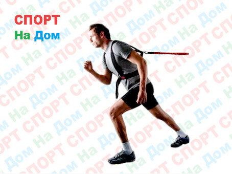 Эспандер-пояс тяги с резиновым шнуром для бега, фото 2