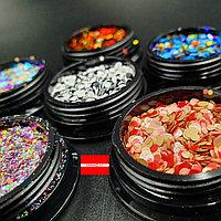 Набор камифубиков для ногтей Галактика 6шт Boya, фото 1