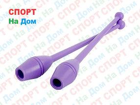 Булавы для художественной гимнастики (Цвет фиолетовый)