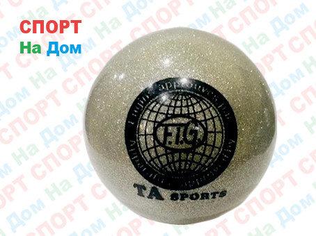 Мяч TA sports для пилатеса, художественной гимнастики (цвет серый), фото 2