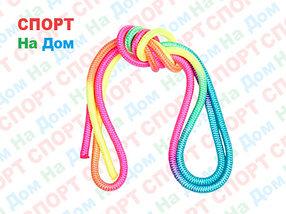 Скакалка гимнастическая (цветная, 3 метра)