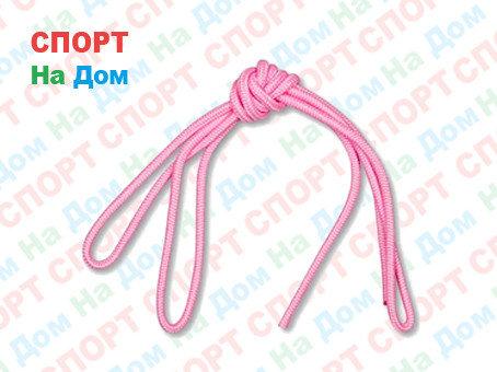 Скакалка гимнастическая розовая (однотонная, 3 метра), фото 2