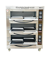 Пекарский шкаф электрический, 3 секции 6 противней, фото 1