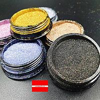 Набор дизайна для ногтей Звездная пыль шиммерный песок 6шт Boya