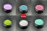 Дизайн для ногтей Радужный песок В Boya, фото 1