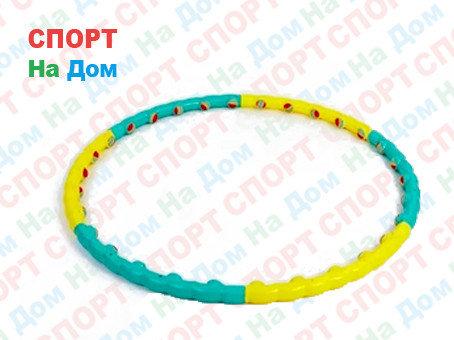 Обруч антицеллюлитный массажный Sunlin color ball hula hoop, фото 2