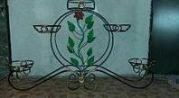 """Подставка для цветов """"Колесо-5"""""""