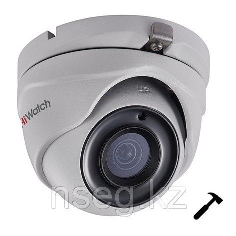 HiWatch DS-T503A (3.6mm) 5Мп Внутренняя купольная HD-TVI камера с EXIR до 20м, фото 2