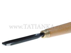 Стамеска прямая - скобка № 49, 10мм