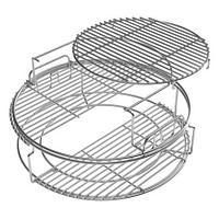 Набор многоуровневых стальных решеток для гриля L, 5 частей 120762 Big Green Egg