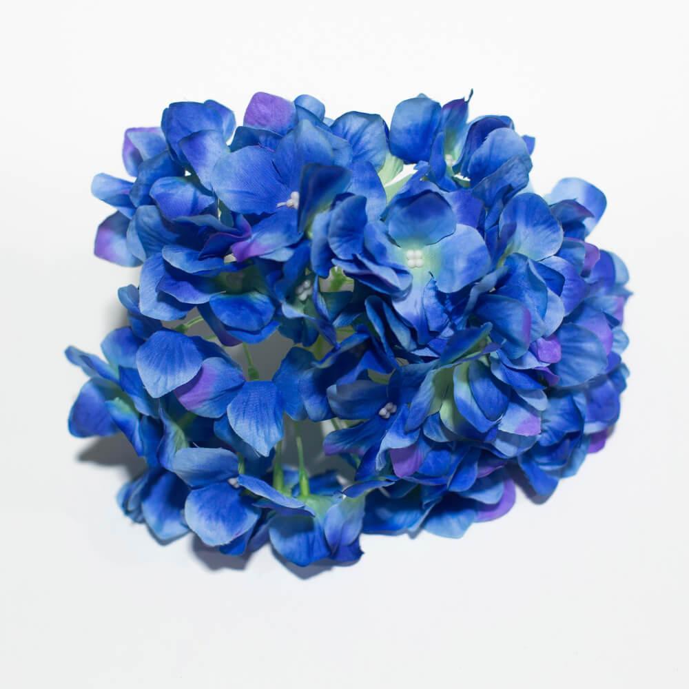 """Цветы искусственные """"Гортензия"""" (25см) оптом от 250тг."""