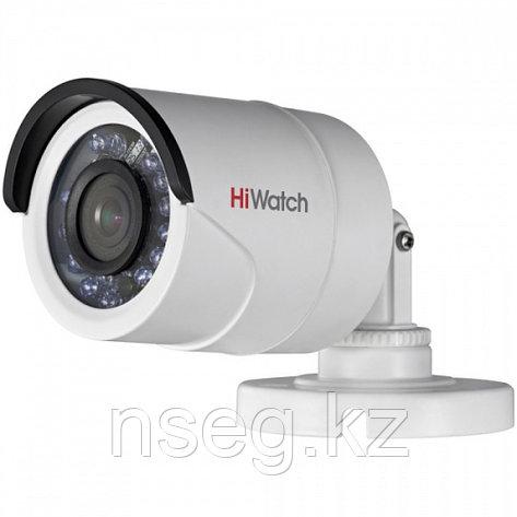 HiWatch DS-T100 1Мп уличная цилиндрическая HD-TVI камера с ИК-подсветкой до 20м, фото 2