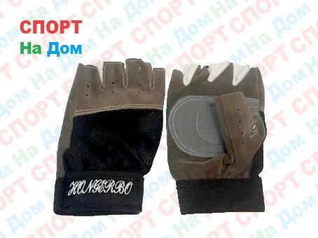 Перчатки для фитнеса, атлетические Размер 2XS (цвет серый), фото 2