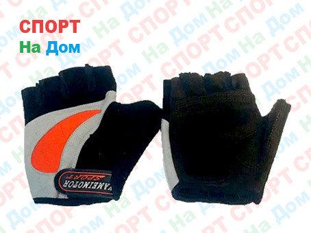 Перчатки для фитнеса, атлетические Yameimotor Sports Размер L (цвет серый, черный), фото 2
