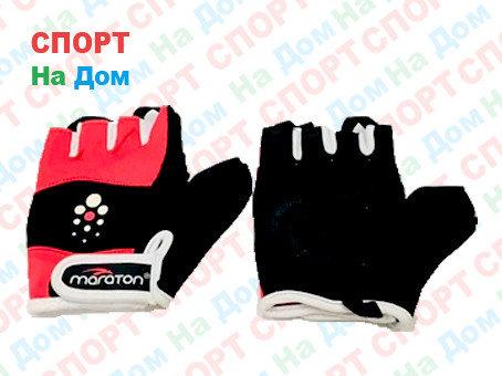 Перчатки для фитнеса, атлетические Maraton Размер S (цвет розовый), фото 2