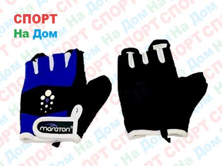 Перчатки для фитнеса, атлетические Maraton Размер M (цвет фиолетовый)