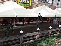 Пошив штор, тентов для шатров и беседок садовых