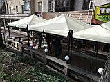 Изготовление тентов и шатров для кафе, фото 2