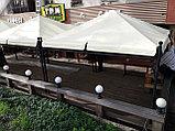 Изготовление тентов и шатров для кафе, фото 4