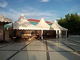 Изготовление тентов и шатров для кафе, фото 5