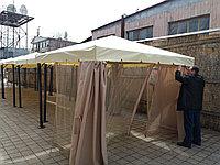 Пошив тентов, штор для шатров и беседок