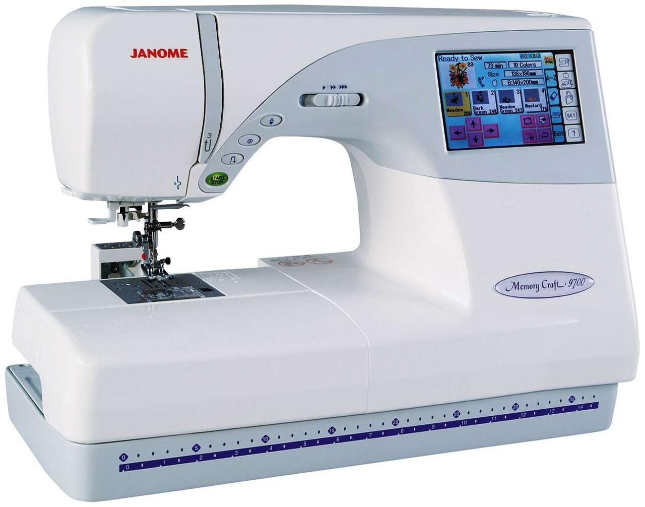 Швейно-вышивальная машина Janome Craft 9700