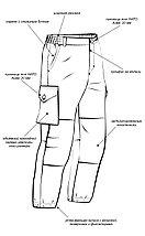 """Костюм """"Турист 2"""" куртка и брюки. Цвет: сетка серый, фото 3"""