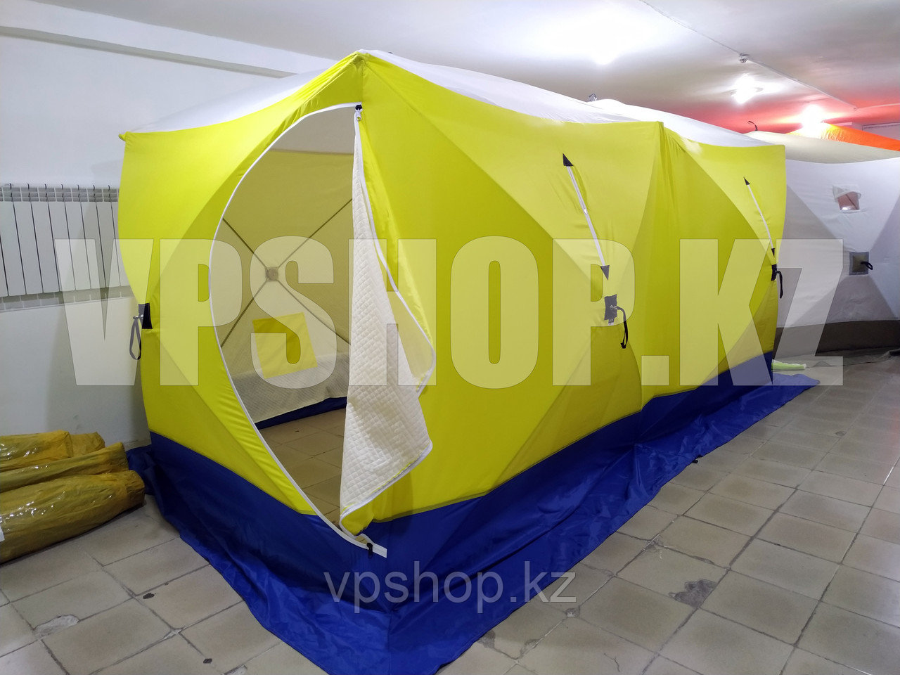 Палатка Двойной КУБ СТЭК-Дубль 420х220 на синтепоне утепленная