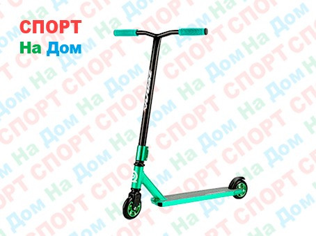 Самокат трюковый ZEBRA PRO ONE (Зеленый)