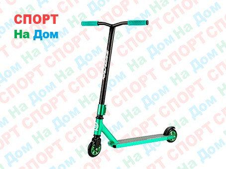 Самокат трюковый ZEBRA PRO ONE (Зеленый), фото 2