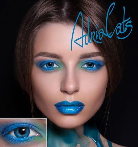 Цветные контактные линзы -4,00 Adria Color 3 Tone