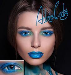 Цветные контактные линзы -4,50 Adria Color 3 Tone