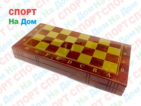 Нарды, шашки, шахматы набор 3 в 1 Sulida
