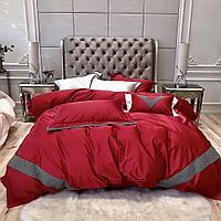 Комплект постельного белья двуспальный LUX сатин однотонное