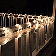Дюралайт led, светодиодная лента, праздничное освещение, гирлянда D1R 100 метров красный, фото 3