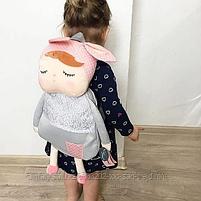 Детский рюкзачок Metoo Angela серый, фото 3