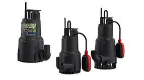 Насосы и установки для систем дренажа, водоотведения, канализации